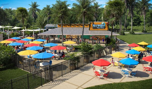 Blue Water Bar and Grill at Nocatee Spray Park