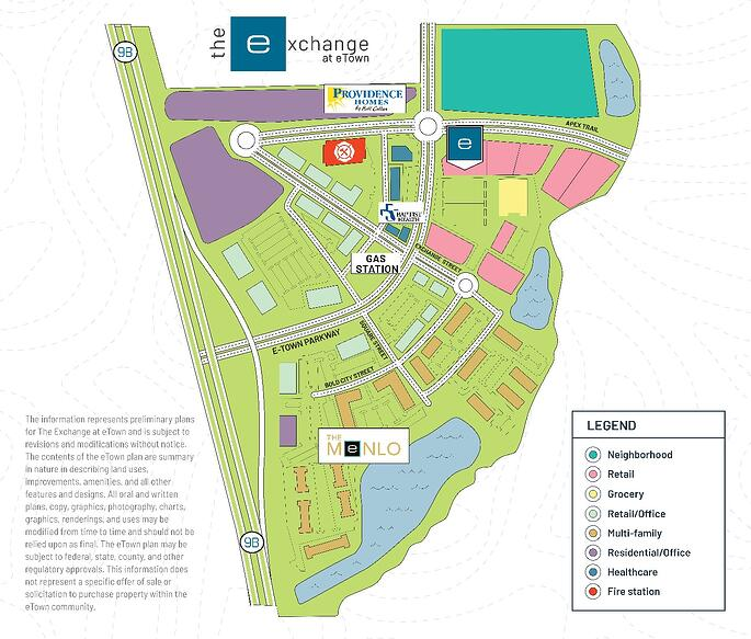 The Exchange at eTown Map