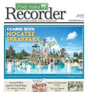 The Ponte Vedra Recorder- Nocatee Spray Park Cover