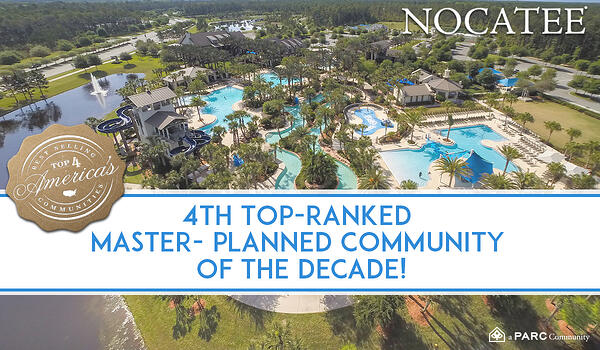 Nocatee Ranked 4th Best Community of the Decade