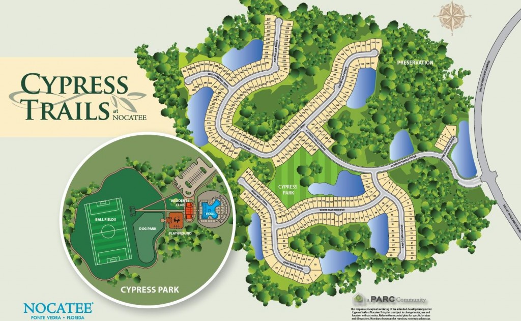 Cypress Trails at Nocatee and Cypress Park