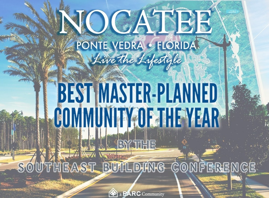 Nocatee Named Best Master-Planned Community of the Year by SEBC