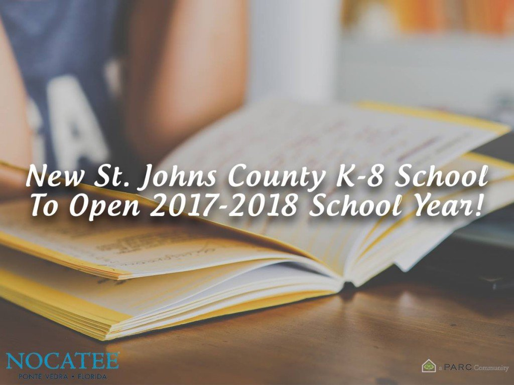 New St. Johns County School at Nocatee