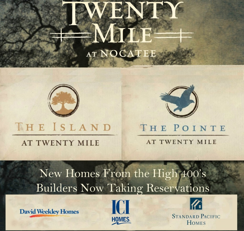 Upscale single-family homes now available at Twenty Mile at Nocatee.