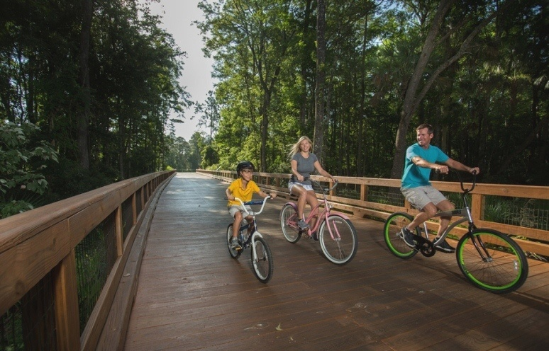 Biking Nocatee Greenway Trails