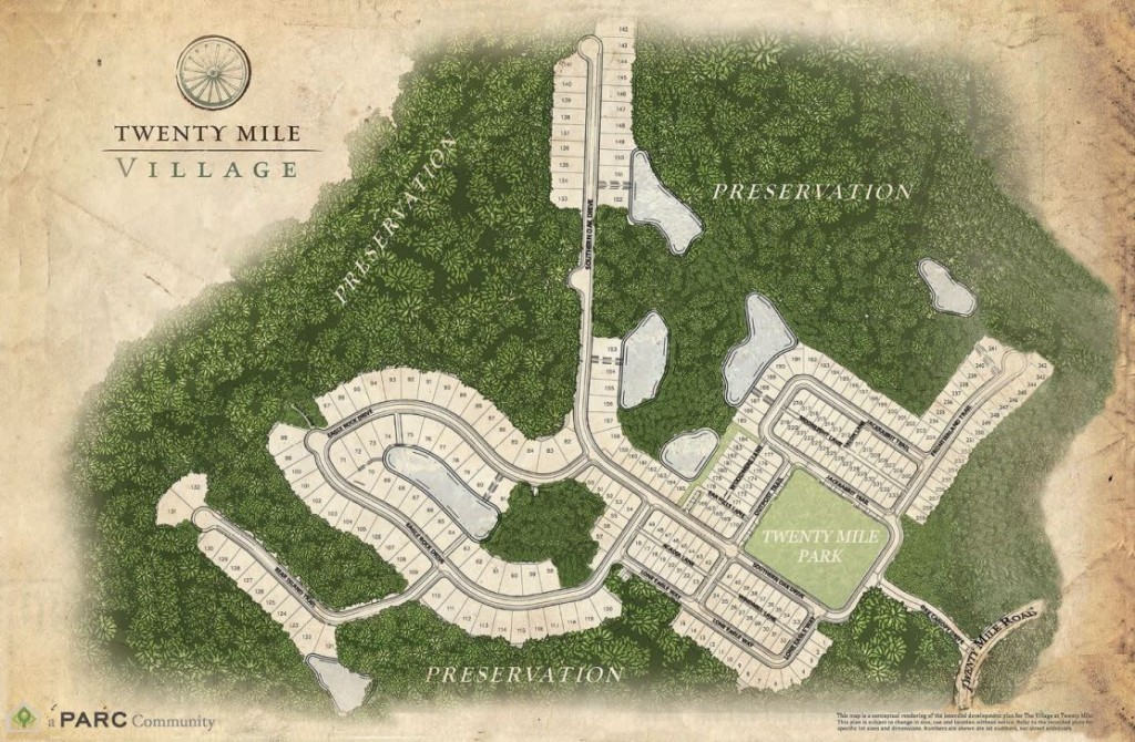 Twenty Mile Village Site Plan